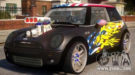 Mini Cooper S V8 USA for GTA 4