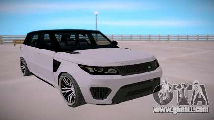 Land Rover Range Rover SVR SA StyledLow Poly for GTA San Andreas