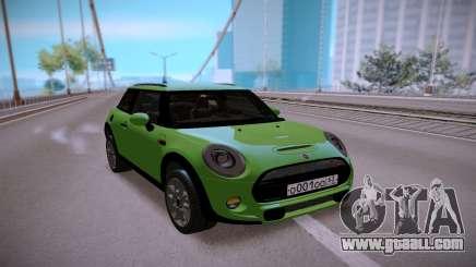 Mini Cooper Green for GTA San Andreas
