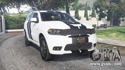 Dodge Durango SRT Mopar 2018 v1.9.1 [add-on] for GTA 5