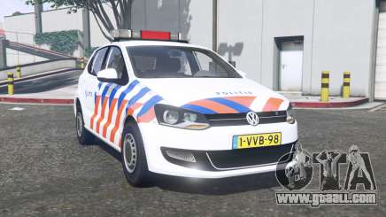 Volkswagen Polo 2011 Politie [ELS] [replace] for GTA 5