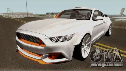 Ford Mustang GT Widebody for GTA San Andreas