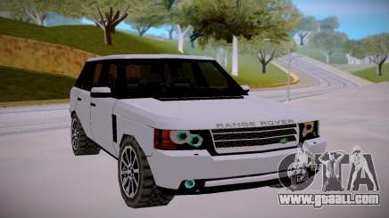 Land Rover Range Rover Supercharged Mk.III 2012 for GTA San Andreas