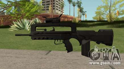 FAMAS Black for GTA San Andreas