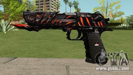 Desert Eagle Born Beast for GTA San Andreas