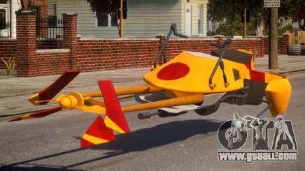 Star Wars Speeder Bike for GTA 4