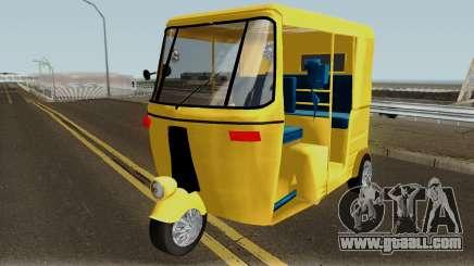 Real Indian Rickshaw for GTA San Andreas