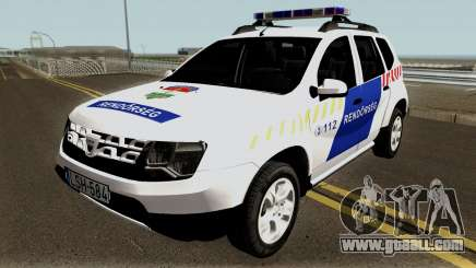 Dacia Duster Rendorseg 2017 for GTA San Andreas