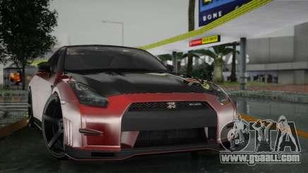 Nissan GTR for GTA San Andreas