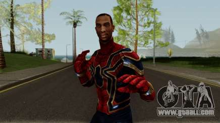 CJ Spiderman for GTA San Andreas