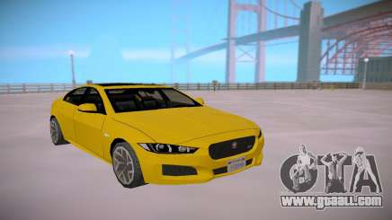 Jaguar XE-S 2015 SA Styled Low Poly for GTA San Andreas