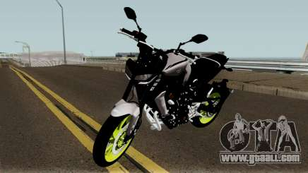 Yamaha MT-09 2017 for GTA San Andreas