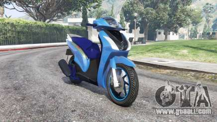 Honda SH150i v1.1 [replace] for GTA 5