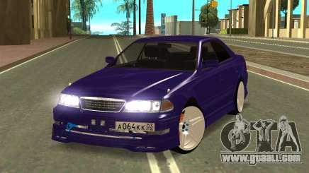 Toyota MarkII JZX100 for GTA San Andreas
