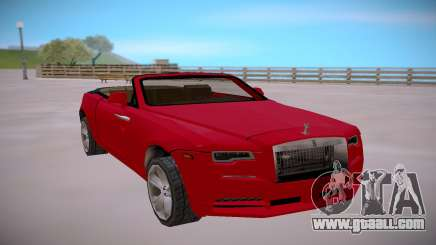 Rolls Royce Dawn 2016 SA StyledLow Poly for GTA San Andreas