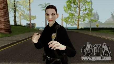 Female Cop LSMPD GTA V for GTA San Andreas