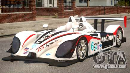Porsche RS Spyder PJ4 for GTA 4