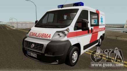Fiat Ducato Lithuanian Ambulance for GTA San Andreas