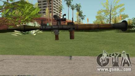 RPG-7 HQ for GTA San Andreas