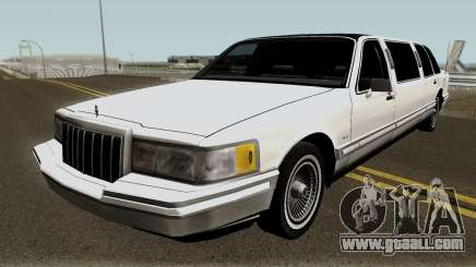 Lincoln Towncar Limo 1991 for GTA San Andreas