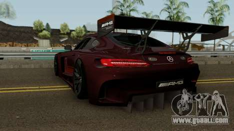 Mercedes Benz AMG GT3 2016 for GTA San Andreas back left view