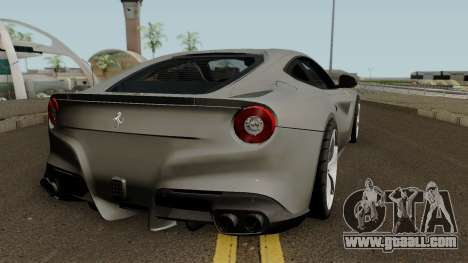 Ferrari F12 Berlinetta 2012 for GTA San Andreas