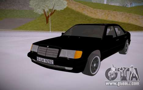 Mercedes-Benz W124 S73 Brabus for GTA San Andreas