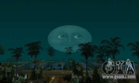 Realistic Moon for GTA San Andreas