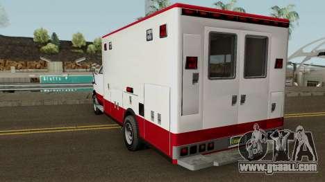 Brute Ambulance GTA 5 for GTA San Andreas
