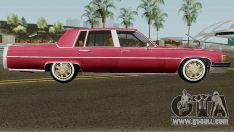 Cadillac Fleetwood Normal 1985 v1 for GTA San Andreas back view
