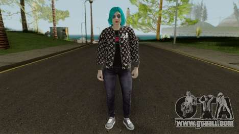 GTA Online Skin Female DLC After Hours for GTA San Andreas