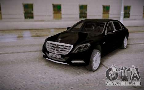 Mercedes-Benz S600 W222 for GTA San Andreas