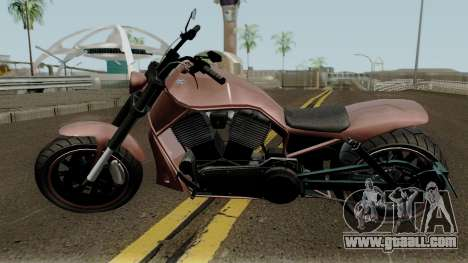 Western Nightblade & V-Rod Style GTA V for GTA San Andreas left view