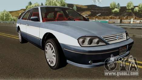 Ford Taurus Wagon 2003 for GTA San Andreas inner view