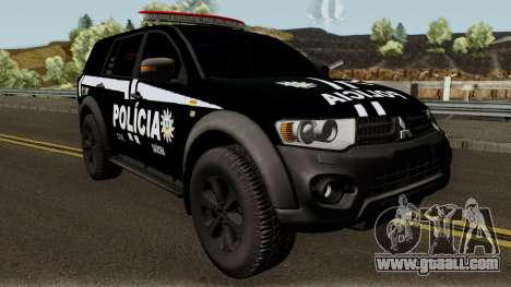 Mitsubishi Pajero Dakar da PCRS: GOE for GTA San Andreas