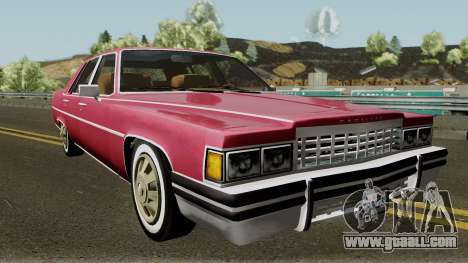 Cadillac Fleetwood Normal 1985 v1 for GTA San Andreas inner view