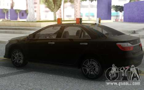 Toyota Camry V55 2017 Sport Design for GTA San Andreas