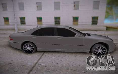 Mercedes-Benz S-class for GTA San Andreas