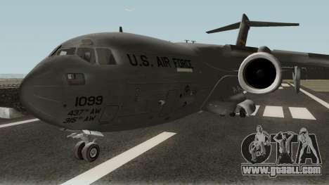 Boeing C-17A Globemaster III for GTA San Andreas