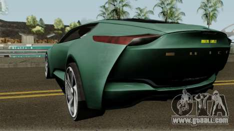 Buick Riviera Concept 2013 for GTA San Andreas back left view