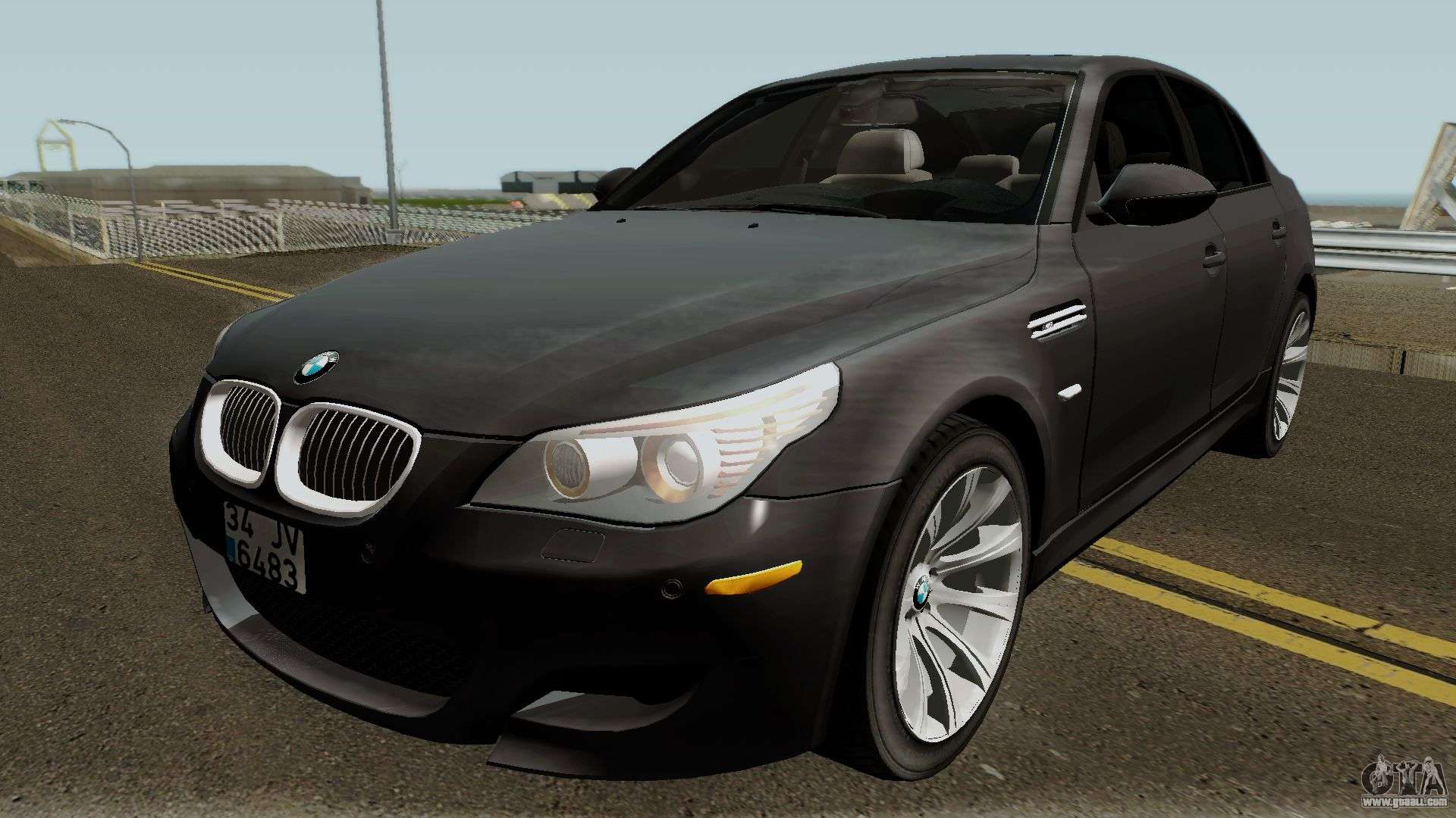 bmw m5 e60 2006 m sport for gta san andreas. Black Bedroom Furniture Sets. Home Design Ideas
