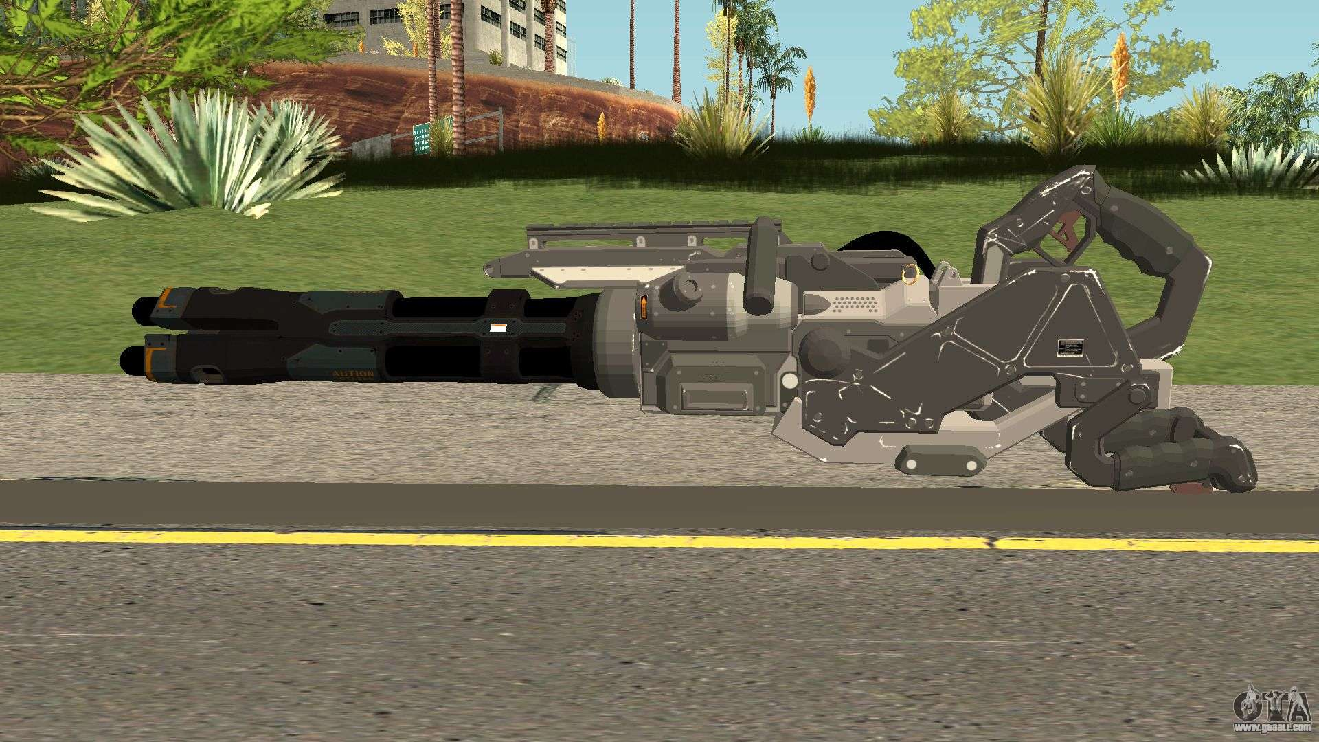 Call Of Duty Black Ops 3 Death Machine V1 For Gta San Andreas