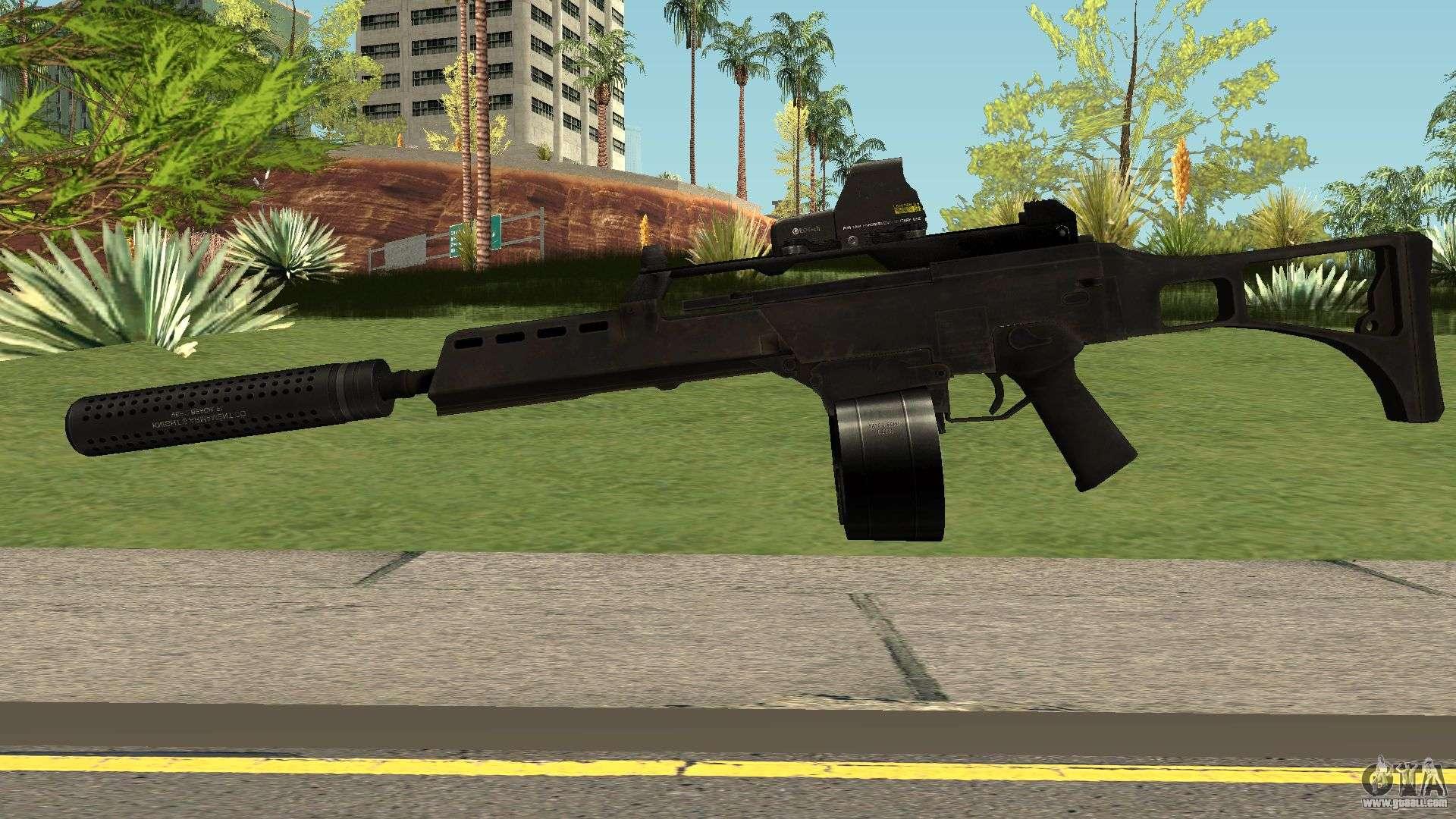 G36c Black For Gta San Andreas