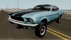 Ford Mustang GT390 Bullitt Edition 1968 for GTA San Andreas