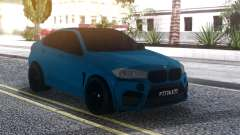 BMW X6M Blue for GTA San Andreas