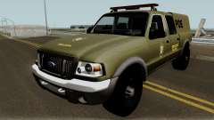 Ford Ranger 2008 Police for GTA San Andreas