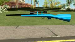 Sniper Rifle Blue for GTA San Andreas