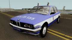 BMW 323i E30 Turkish Police Car for GTA San Andreas