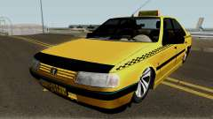 Peugeot 405 GLX Taxi Final v2 for GTA San Andreas