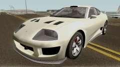 Dinka Jester Classic or F&F GTA V IVF for GTA San Andreas